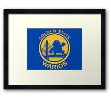 GOLDEN STATE WARIOS Framed Print