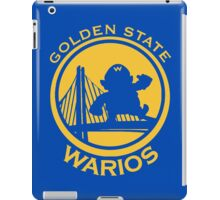 GOLDEN STATE WARIOS iPad Case/Skin