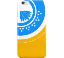 Blue Lotus Water Drop iPhone Case/Skin