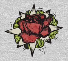 Illustrated Rose Patch  by BrillianceLies