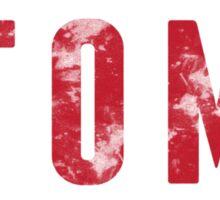 STOMP Mens Red Sticker