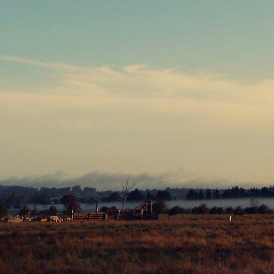 Cattle Yard by Kitsmumma