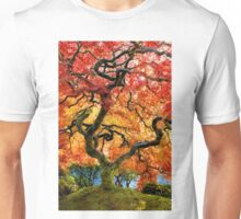 Japanese Maple at Portland's Japanese Gardens Unisex T-Shirt