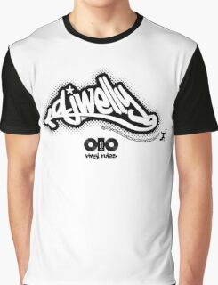DJ Welly - Vinyl Rules Logo Graphic T-Shirt