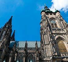 Saint Vitus Cathedral. by FER737NG