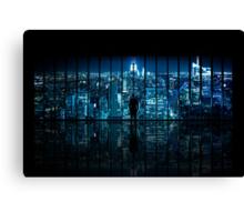 Window to Gotham City Canvas Print