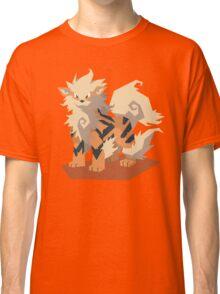 Cutout Arcanine Classic T-Shirt