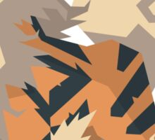 Cutout Arcanine Sticker