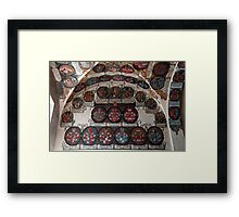 Coats of arms. Framed Print