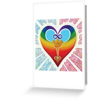 One Love To Heal All ; Birthing The New World Greeting Card