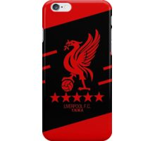 Liverpool Liver Bird Red Black iPhone Case/Skin