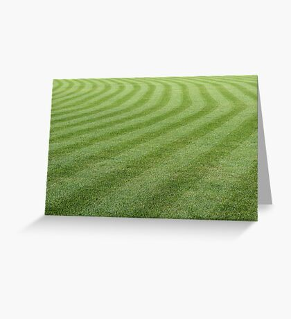 Green grass pattern. Greeting Card