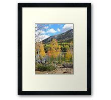 Tushar Lakeside Framed Print