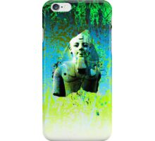 Egyptian display of green iPhone Case/Skin