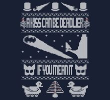 Batman Returns - Ugly Christmas Jumper by Malc Foy