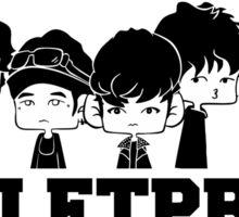 BTS WE ARE BULLETPROOF Chibi 2 Sticker