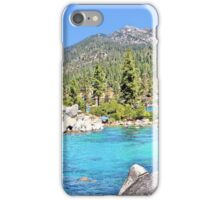Secluded Cove on Lake Tahoe iPhone Case/Skin