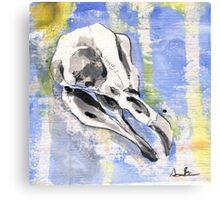 Penguin Skull Canvas Print