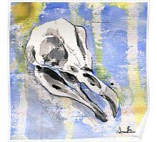 Penguin Skull Poster