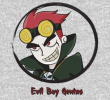 Jack Spicer Evil Boy Genius One Piece - Long Sleeve