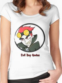 Jack Spicer Evil Boy Genius Women's Fitted Scoop T-Shirt
