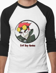 Jack Spicer Evil Boy Genius Men's Baseball ¾ T-Shirt