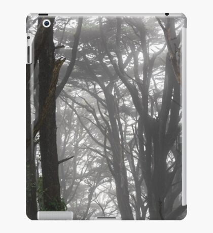 Mt Davidson Trees and Fog iPad Case/Skin