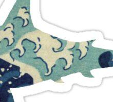 Wave Shark Sticker