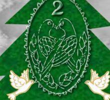 2 turtle Doves  Sticker