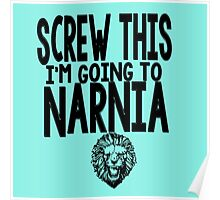 Narnia Quotes Poster