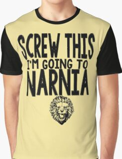 Narnia Quotes Graphic T-Shirt