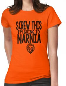 Narnia Quotes Womens Fitted T-Shirt