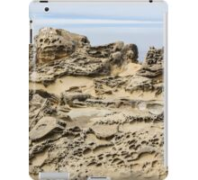 Tafoni with Cloudy Horizon iPad Case/Skin