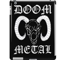Doom Metal iPad Case/Skin