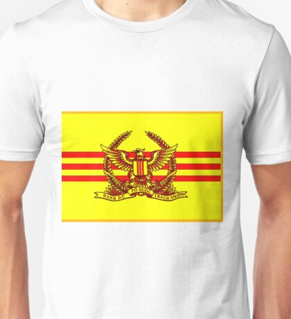 Flag of the South Vietnamese Army Unisex T-Shirt