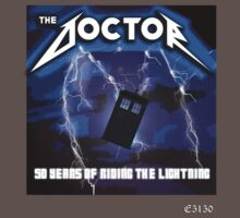 The Doctor is Metal Kids Clothes