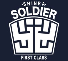 Final Fantasy VII - SOLDIER First Class Logo One Piece - Short Sleeve