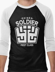 Final Fantasy VII - SOLDIER First Class Logo Men's Baseball ¾ T-Shirt