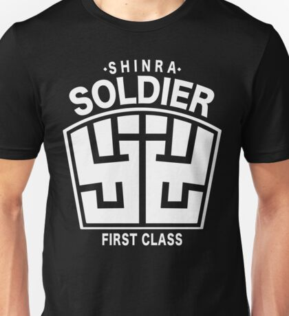 Final Fantasy VII - SOLDIER First Class Logo Unisex T-Shirt