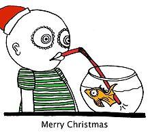 Merry Fishmas by ellenpowell