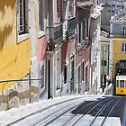 The Bica Funicular, Lisbon by Mark Higgins