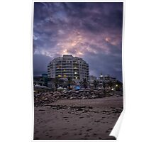 Cronulla twighlight before the storm Poster
