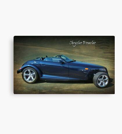 Chrysler Prowler Canvas Print