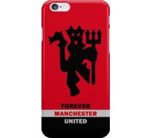 manchester united old traford second iPhone Case/Skin
