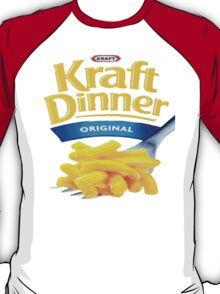 Kraft Dinner Mac 'n' Cheese T-Shirt T-Shirt