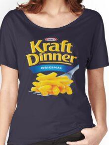 Kraft Dinner Mac 'n' Cheese T-Shirt Women's Relaxed Fit T-Shirt