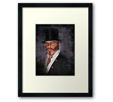 The Ripper Framed Print