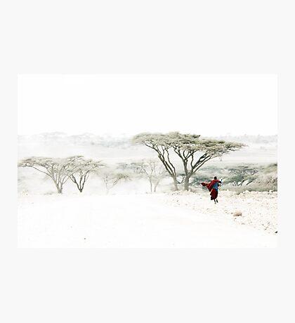 Maasai Mara country, Tanzania Photographic Print