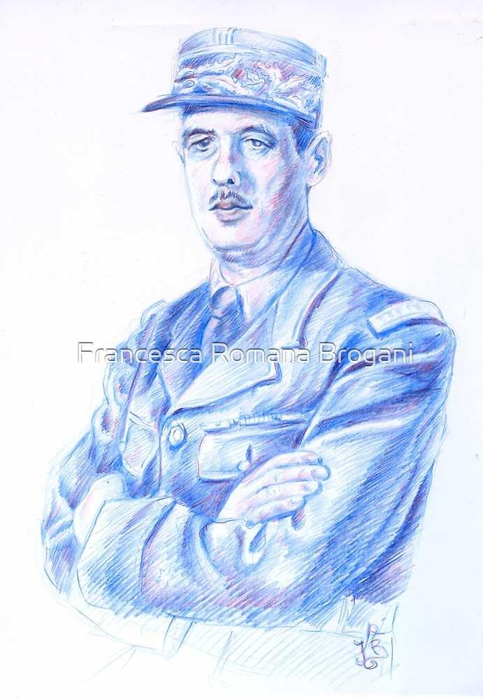 Charles De Gaulle by Francesca Romana Brogani