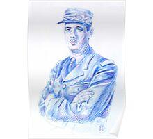 Charles De Gaulle Poster